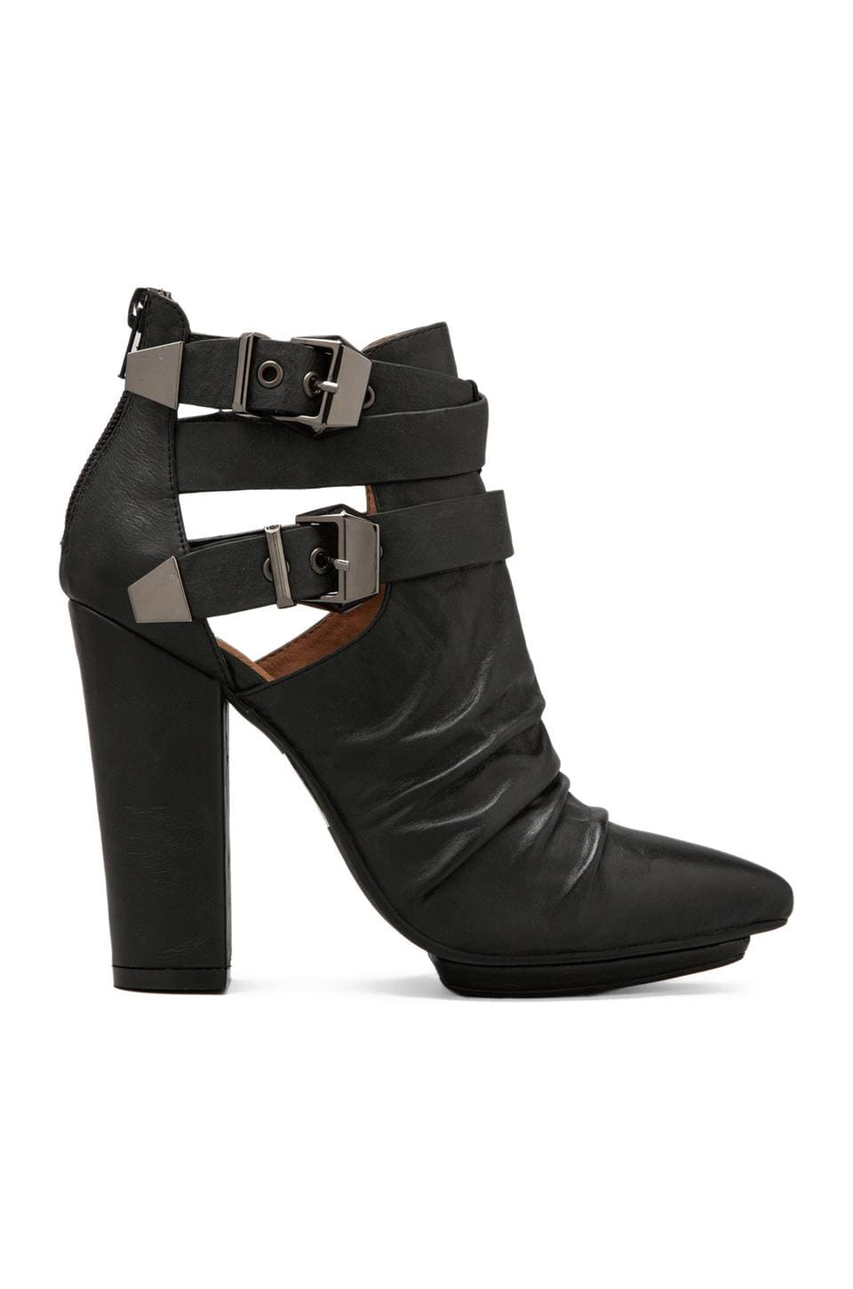 Jeffrey Campbell Gaelle in Black Leather