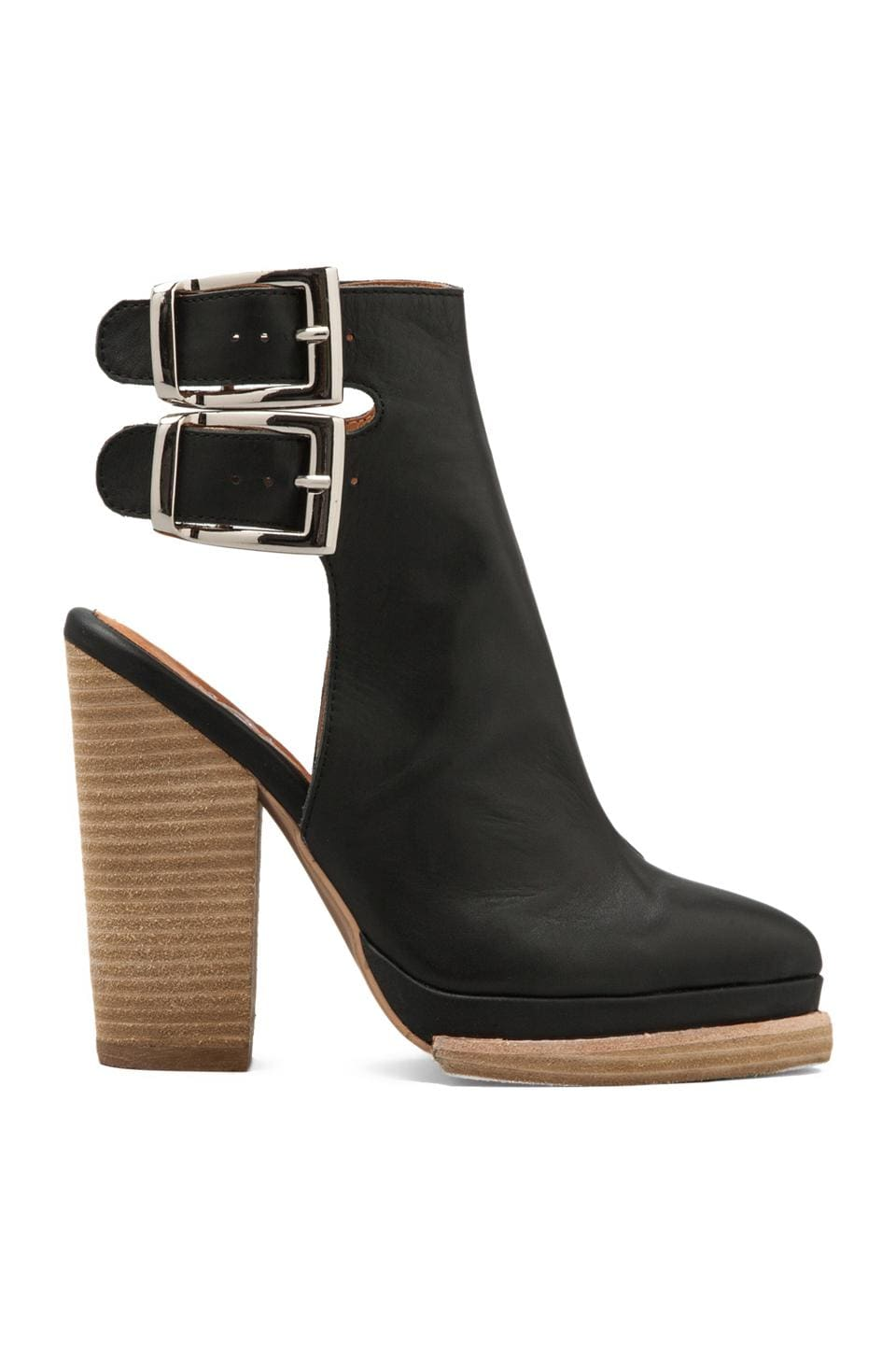 Jeffrey Campbell National-H in Black Leather
