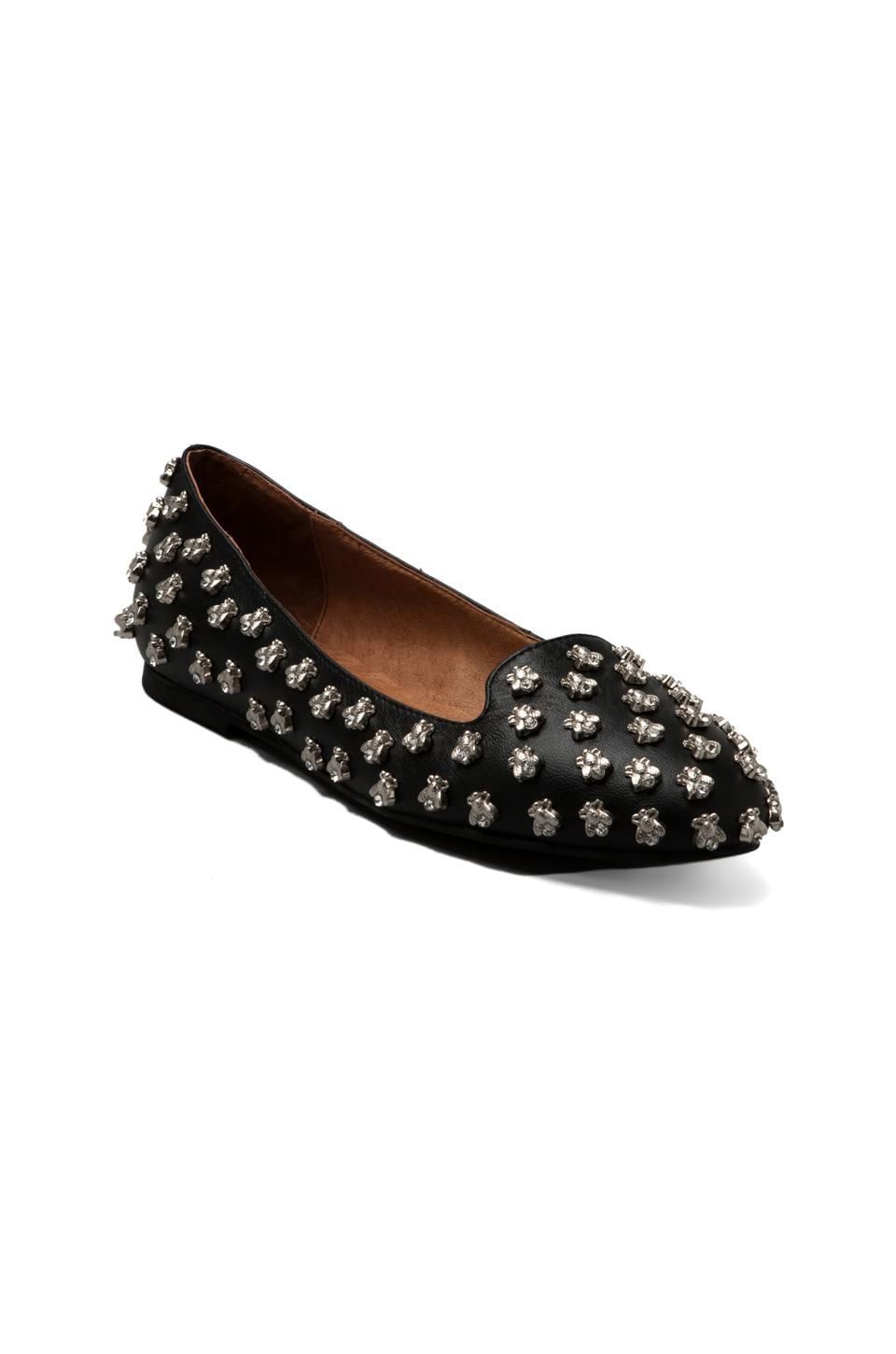 Jeffrey Campbell Martinbee in Black Silver