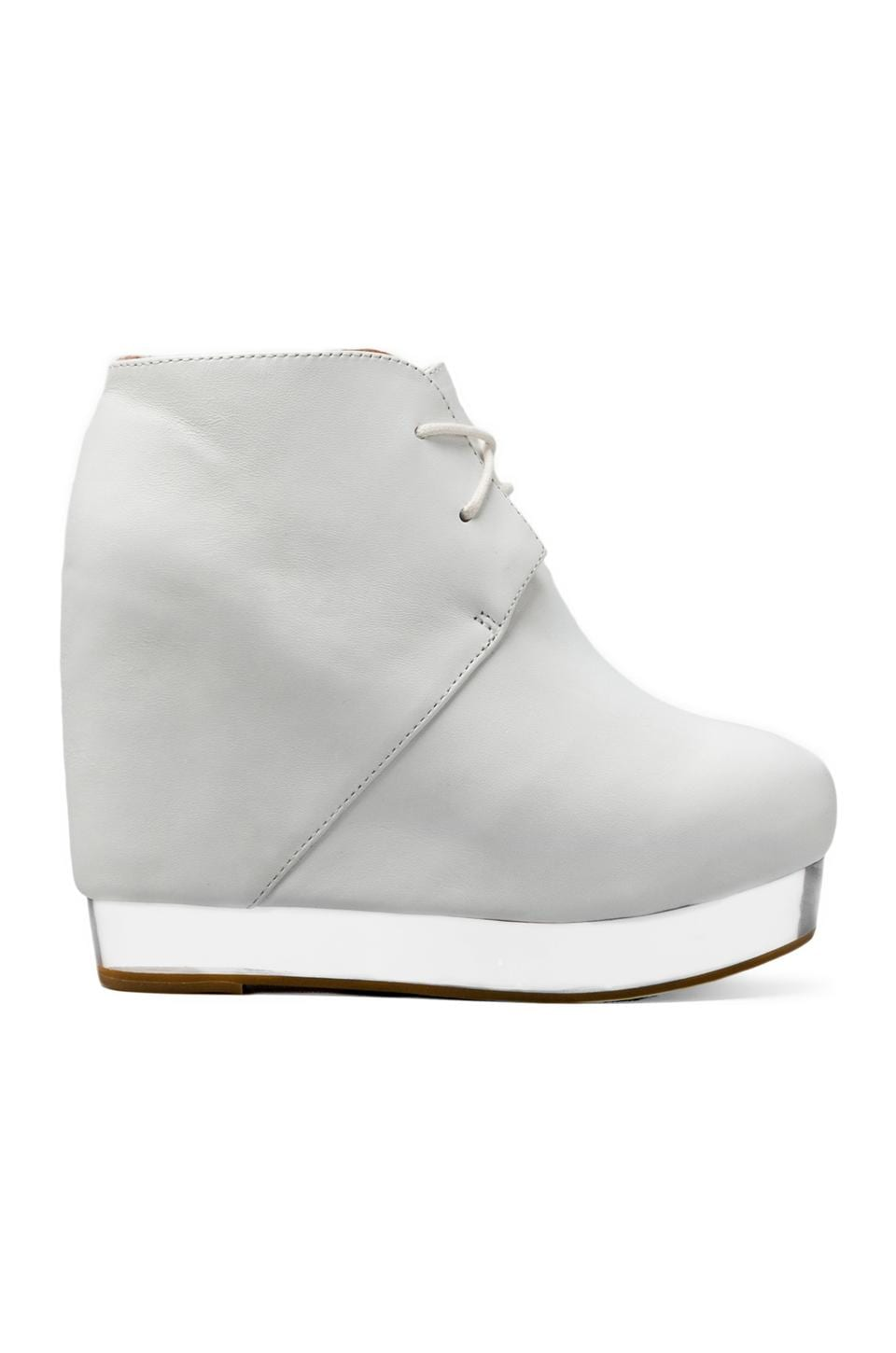 Jeffrey Campbell Alexis in White/Clear