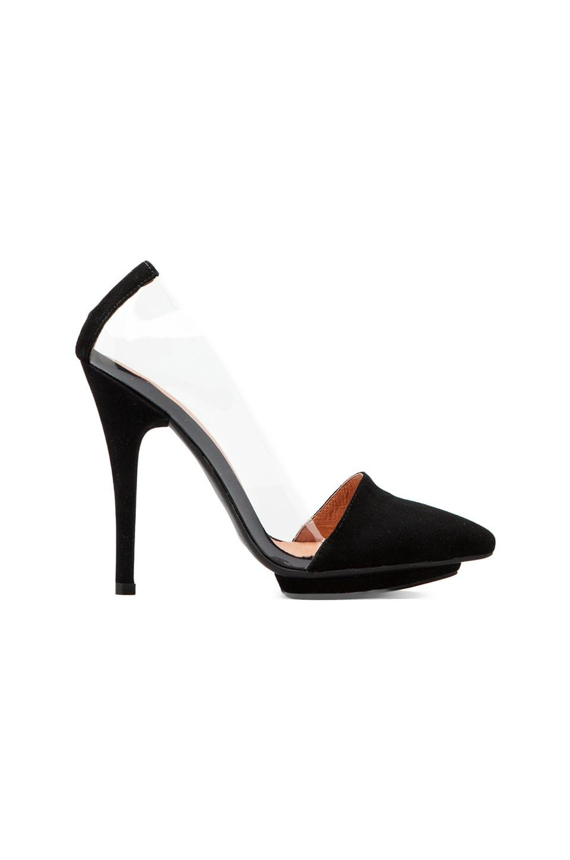 Jeffrey Campbell x REVOLVE Supermodel Heel in Black Suede