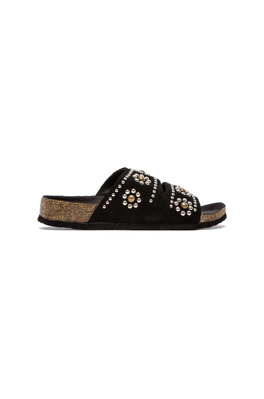 Jeffrey Campbell Lisbon Embellished Sandal in Black
