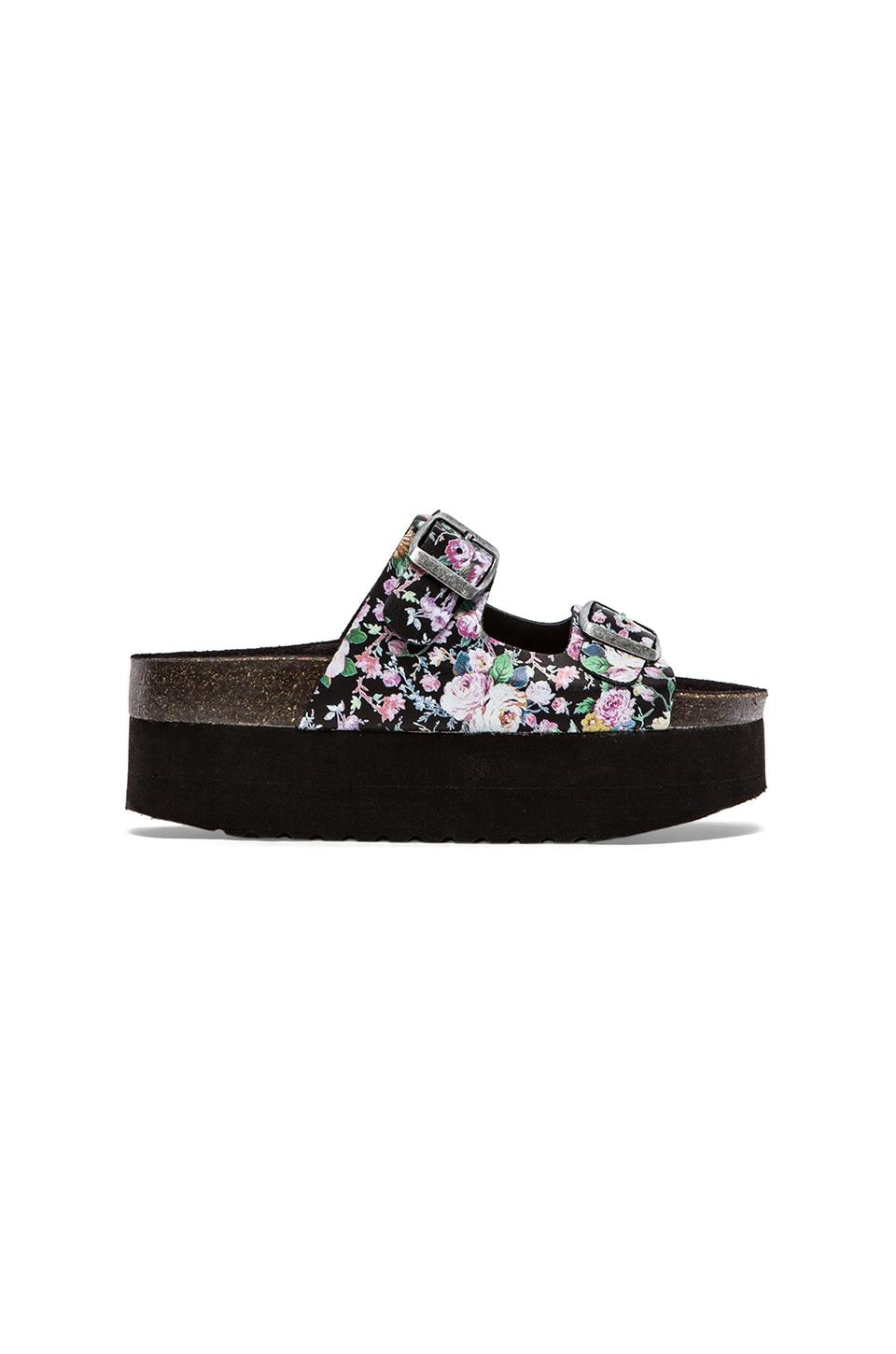 Jeffrey Campbell Aurelia Sandal in Black Floral