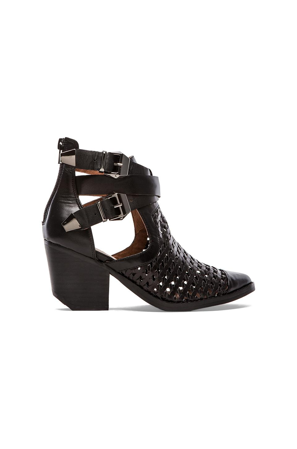 Jeffrey Campbell Buck Bootie in Black
