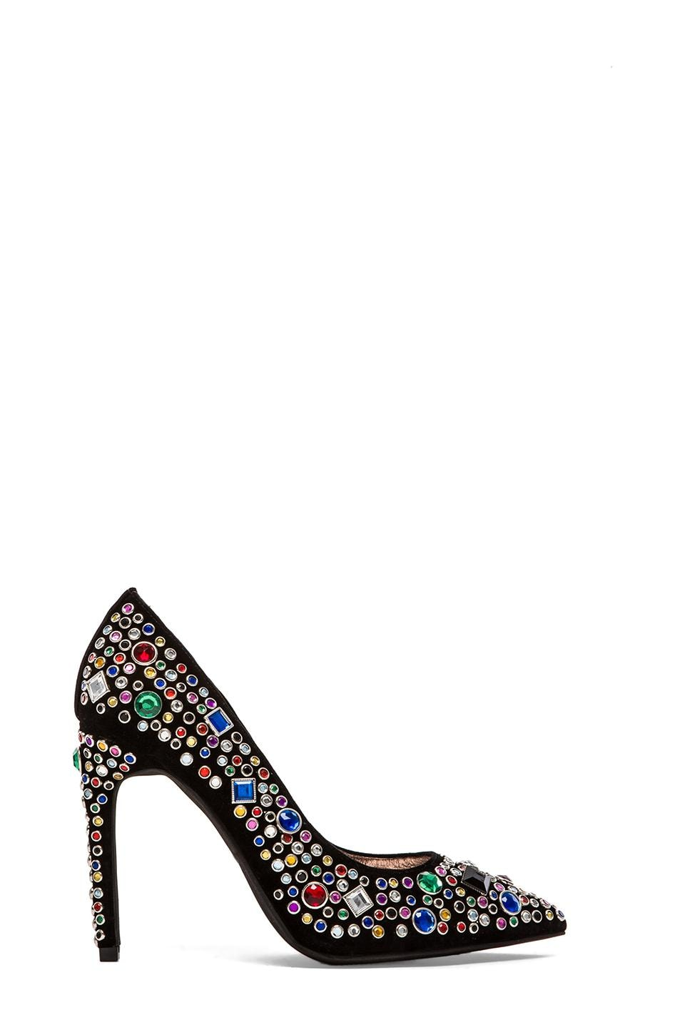 Jeffrey Campbell Dulce Embellished Heel in Black Multi