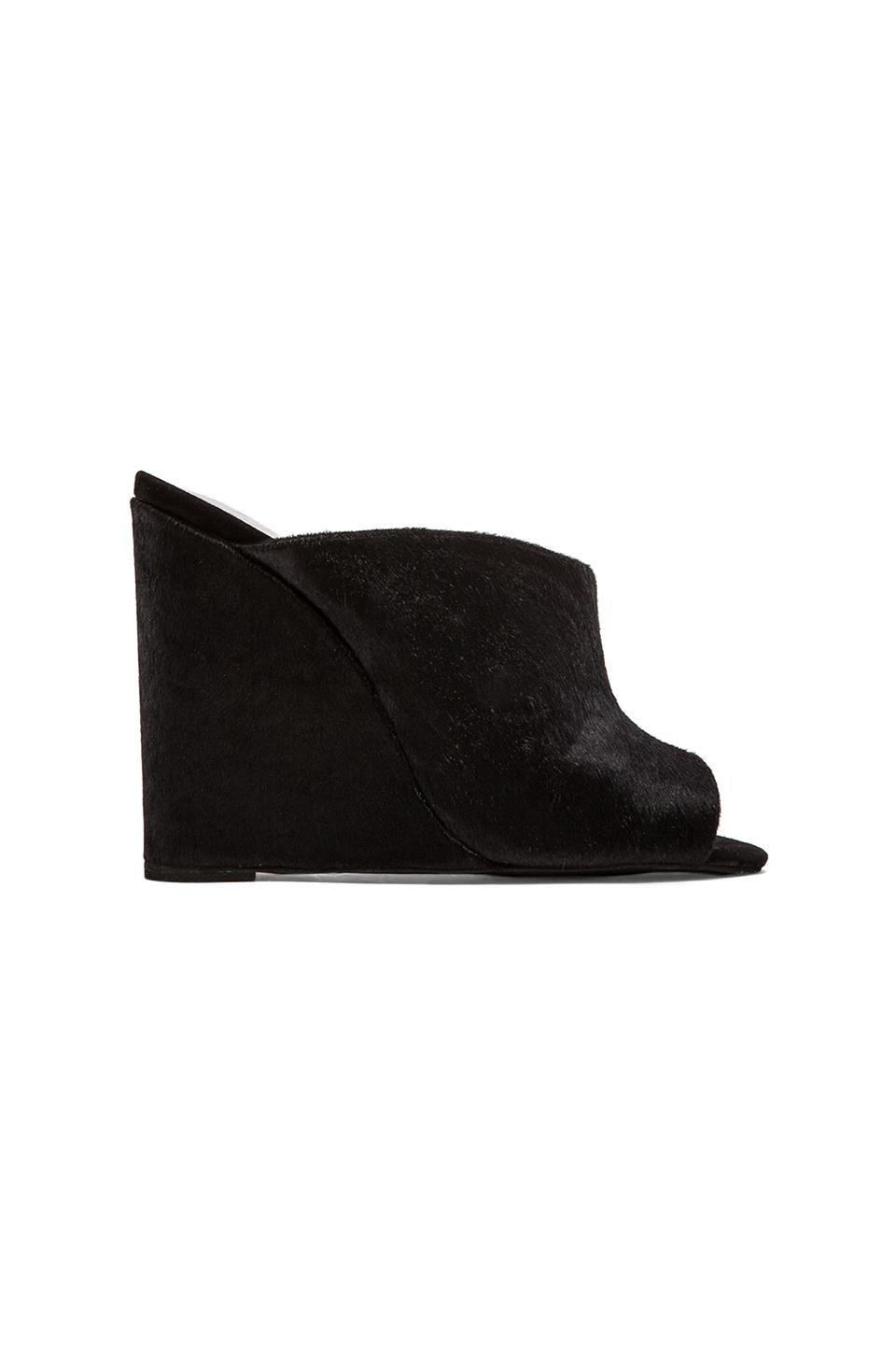 Jeffrey Campbell Jovie Heel in Black Pony Hair