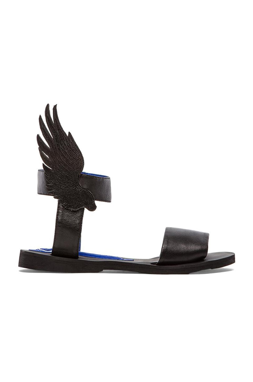 Jeffrey Campbell Victory Sandal in Black