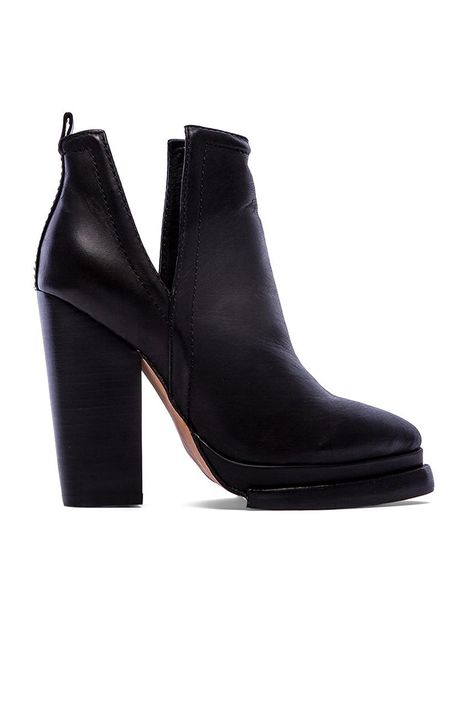 Jeffrey Campbell Whose Next bootie in Black