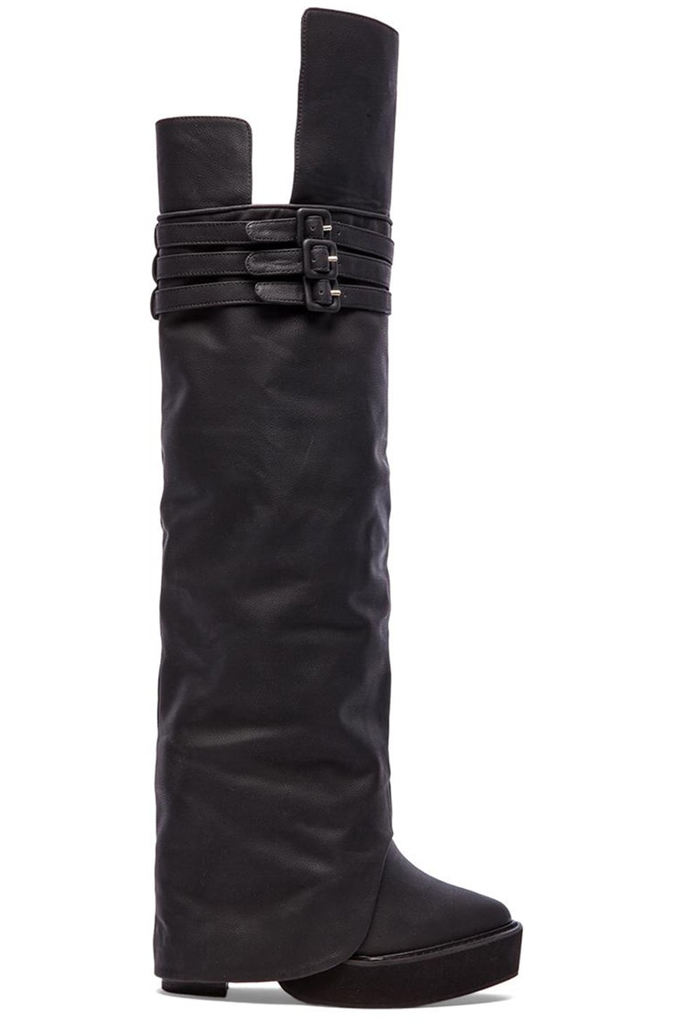 Jeffrey Campbell Eminent Wedge Boot in Black