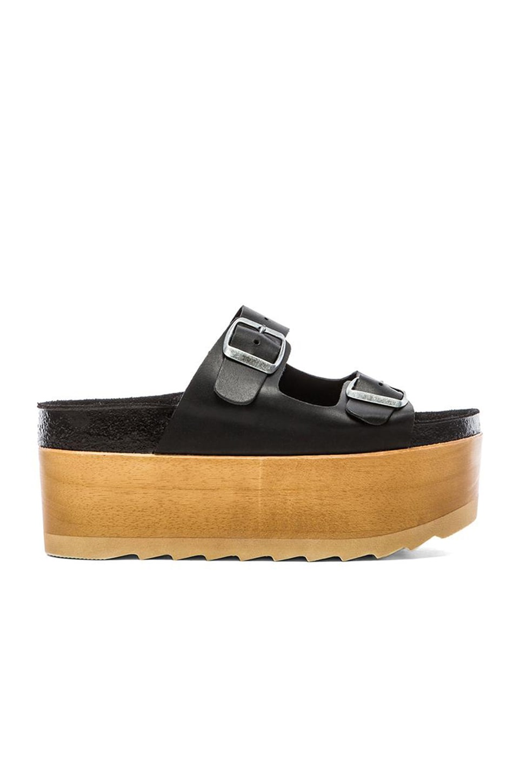 Jeffrey Campbell Aurelia Platform Sandal in Black