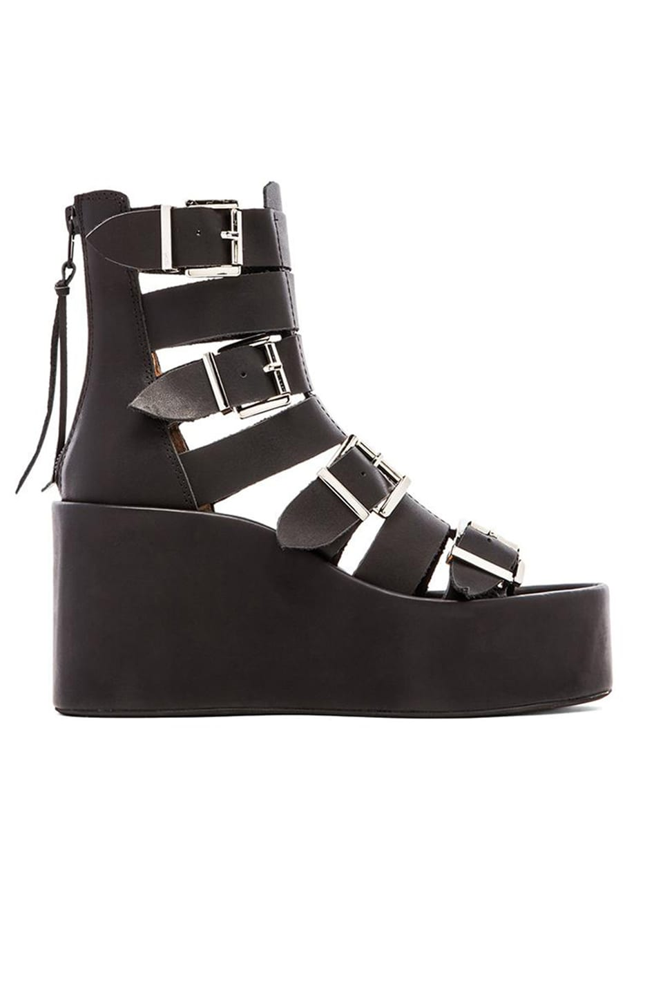 Jeffrey Campbell Thetis Sandal in Black