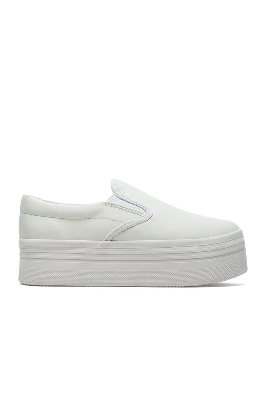 Jeffrey Campbell WTF Sneaker en White