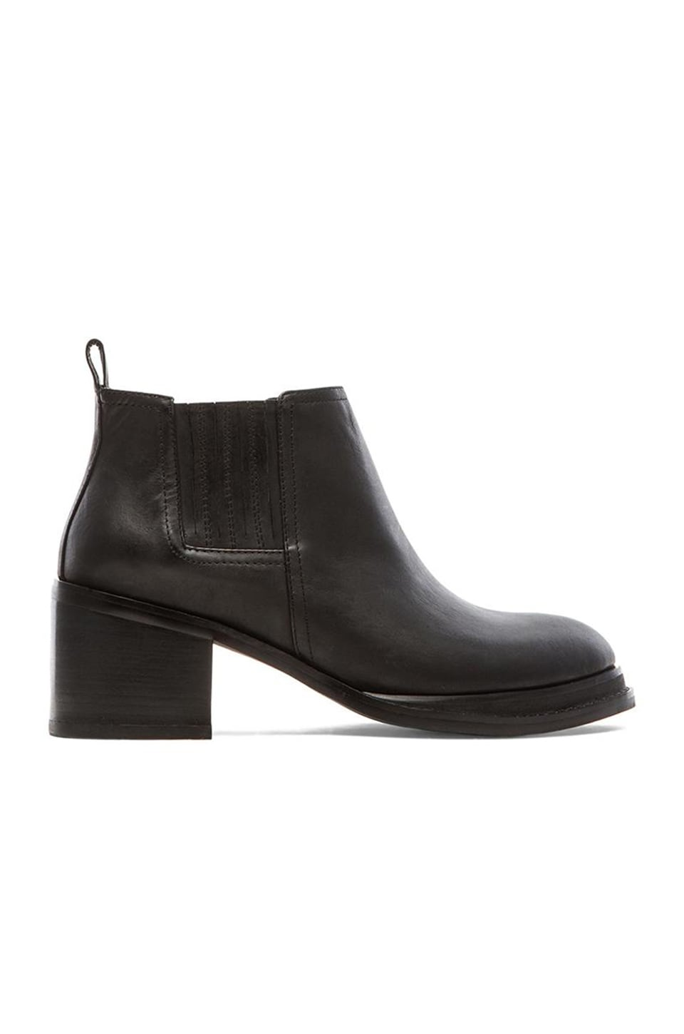 Jeffrey Campbell Eldin Bootie in Black