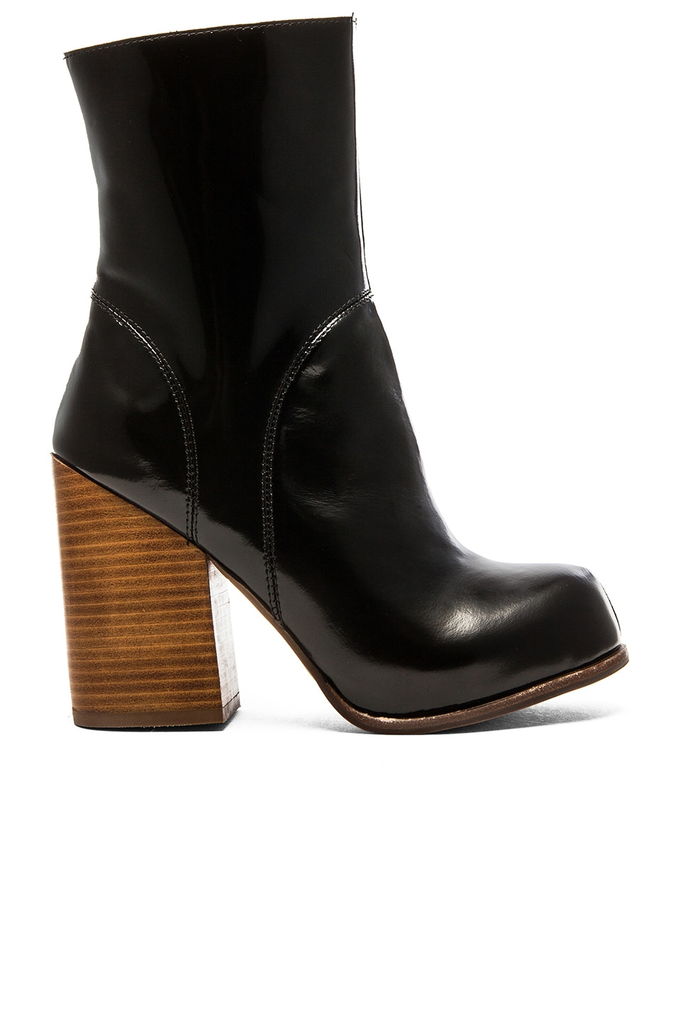 Jeffrey Campbell Hanger Shaft Boot in Black Box