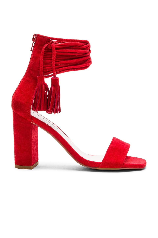 Jeffrey Campbell Formosa Heels in Red Suede