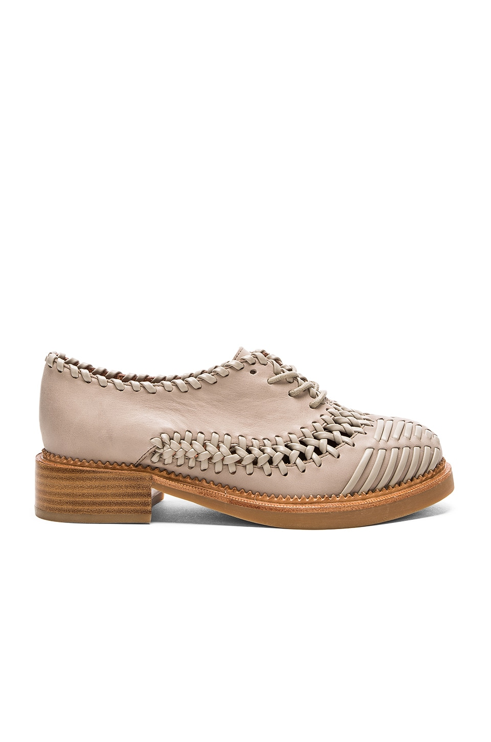 Jeffrey Campbell Vindas Oxfords in Grey
