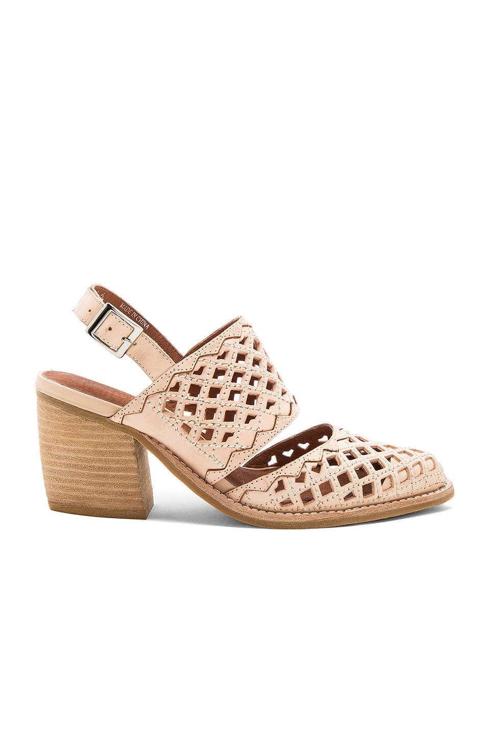 Jeffrey Campbell Cathica Sandal in Natural