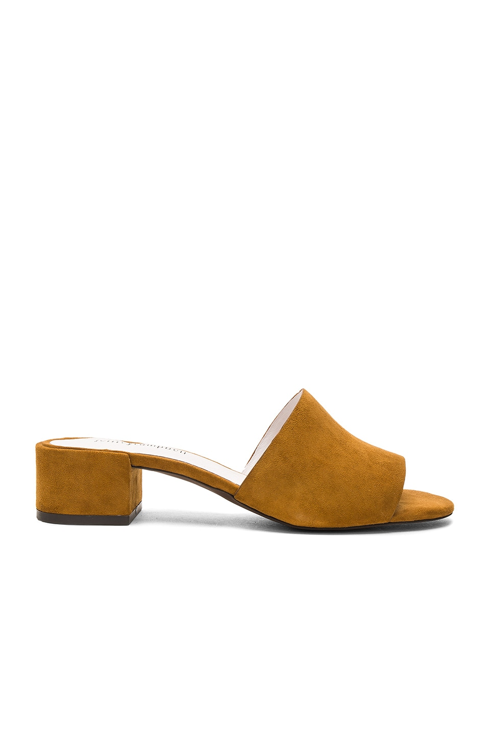 Jeffrey Campbell Beaton Heel in Yellow Suede