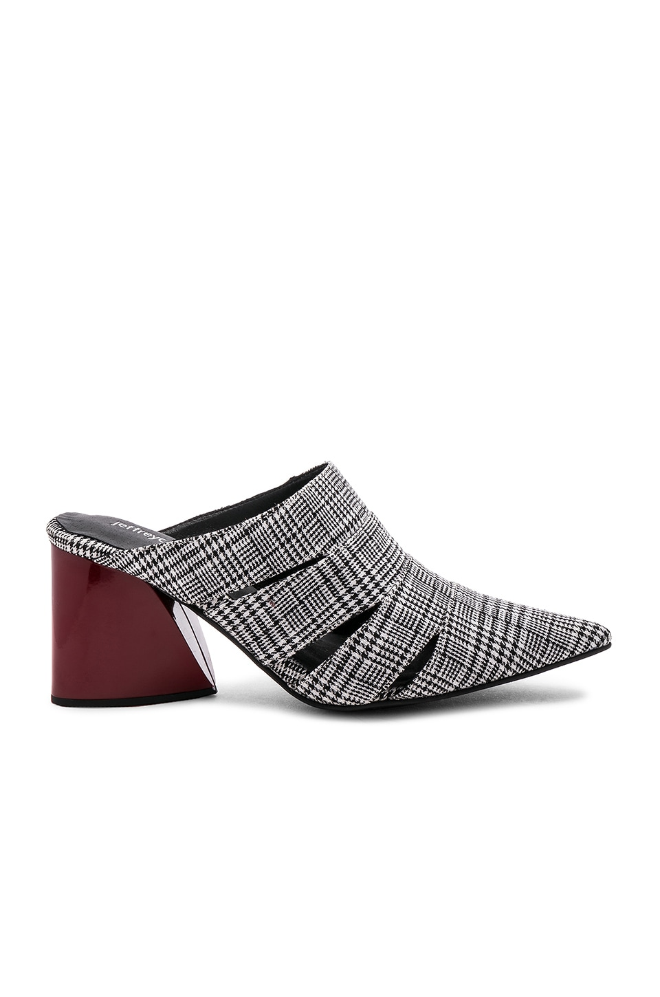 Jeffrey Campbell Creek Mule in Houndstooth