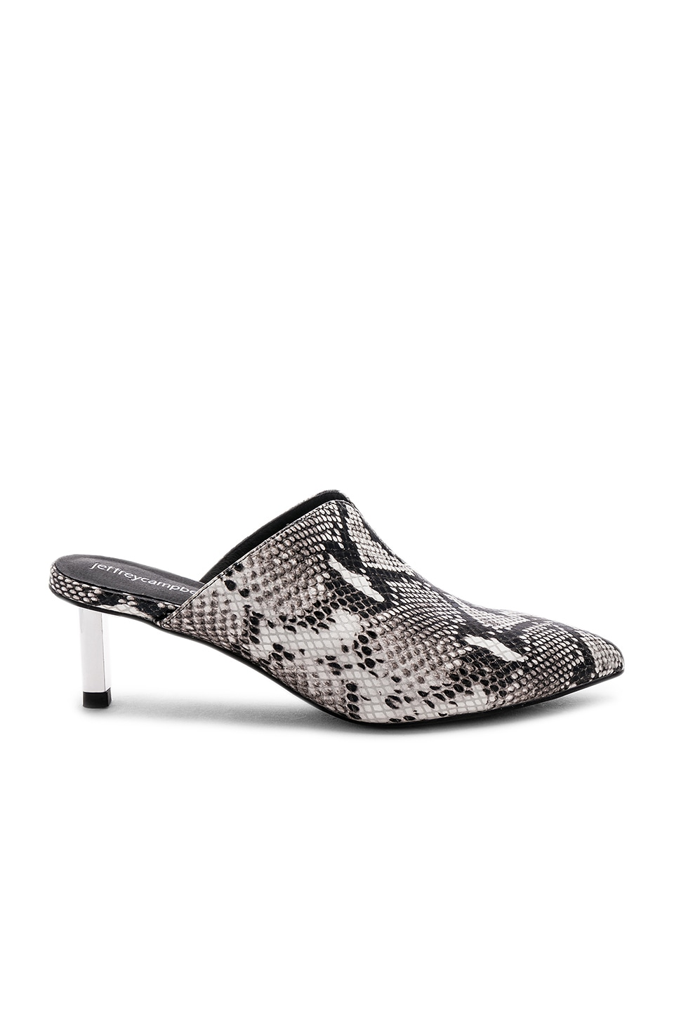 Jeffrey Campbell Tableau Mule in Grey Python