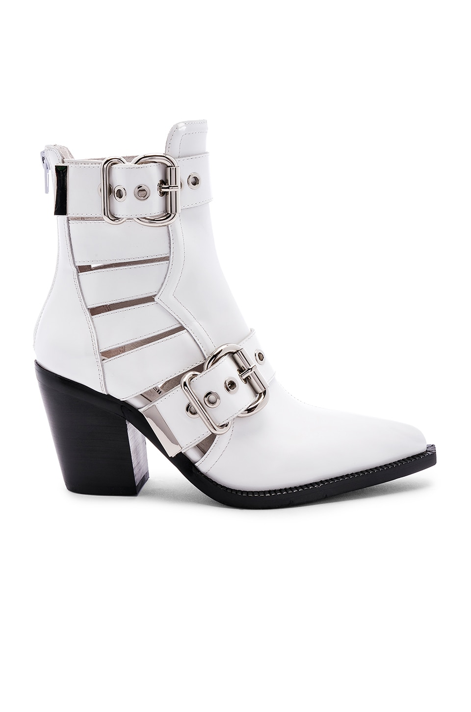 Jeffrey Campbell Guadalupe Bootie in White Box