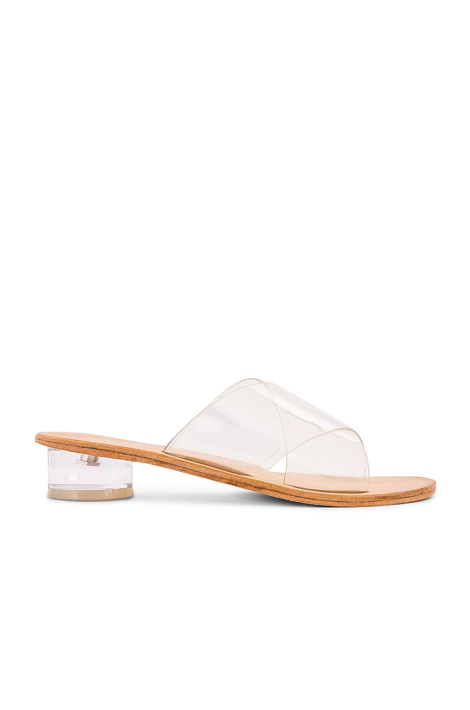 Jeffrey Campbell Bronwen Sandal in Clear & Natural