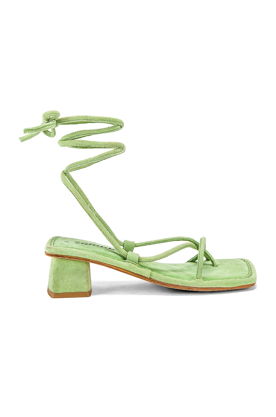 Jeffrey Campbell Kaine Sandal in Mint Suede