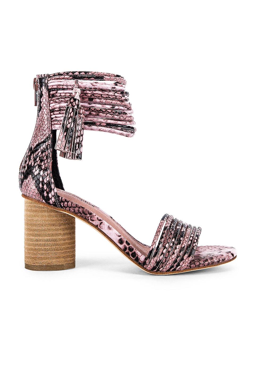 Jeffrey Campbell Pallas Sandal in Pink Snake