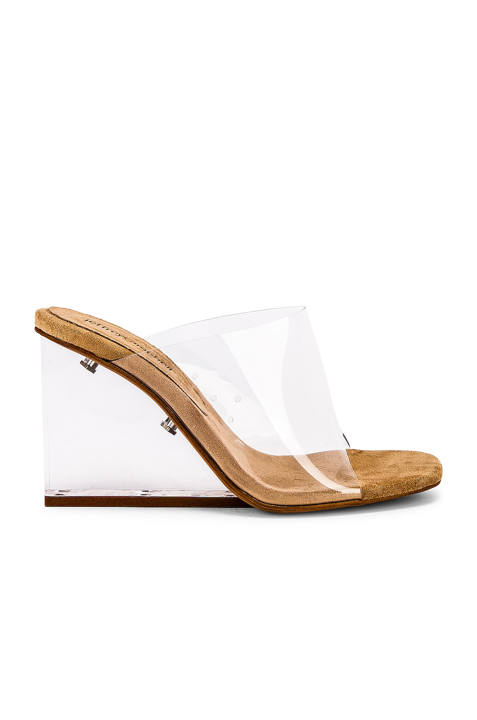 Jeffrey Campbell Acetate Mule in Clear