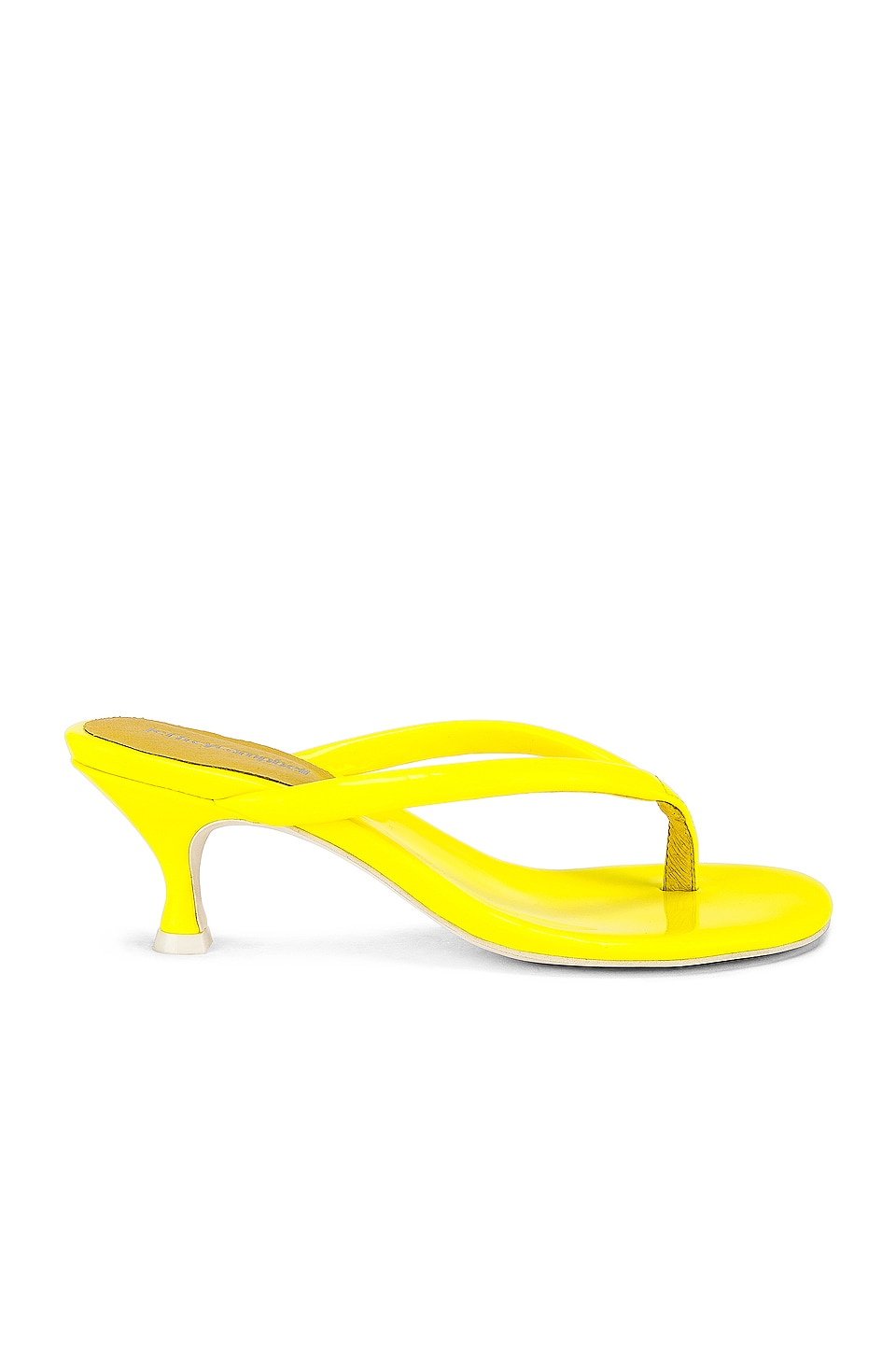 Jeffrey Campbell Brink Sandal in Yellow Neon