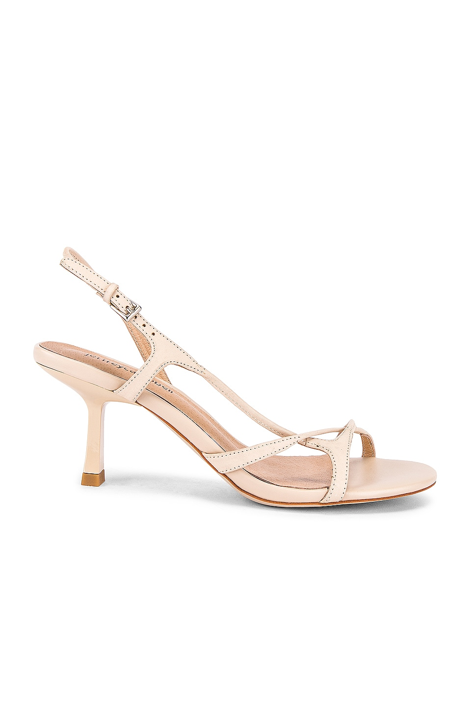 Jeffrey Campbell Parasite Sandal in Nude