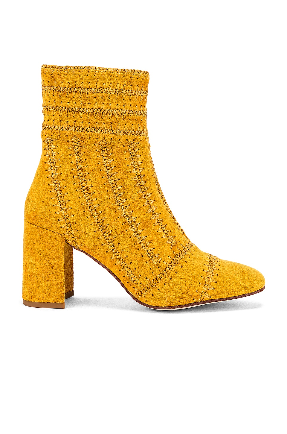 Jeffrey Campbell Grateful Bootie in Mustard