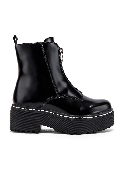 Jeffrey Campbell Zippd Boot in Black Box