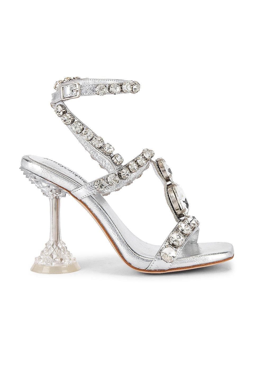 Jeffrey Campbell Anastas Heel in Silver