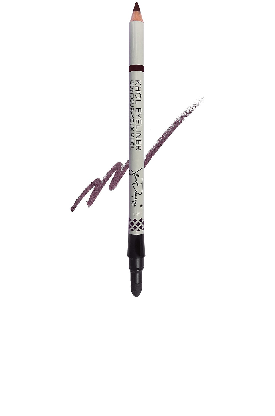 Jillian Dempsey Natural Khol Eyeliner in Deep Burgundy