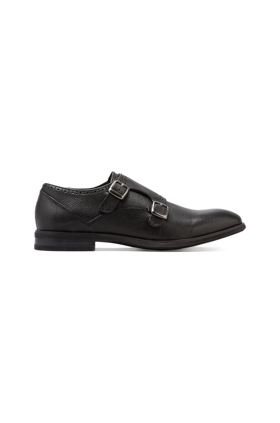 J.D. FISK Marc Monk Strap in Black