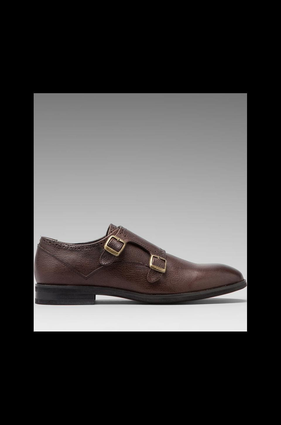 J.D. FISK Marc Monk Strap in Brown