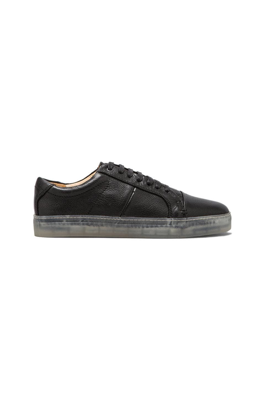 J.D. FISK Cadet Sneaker in Black
