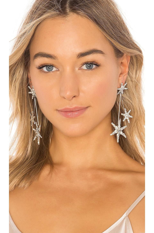 Jennifer Behr Borealis Earrings in Crystal