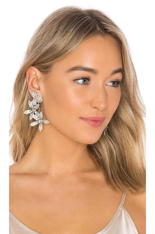 Jennifer Behr Aimee Earrings in Crystal