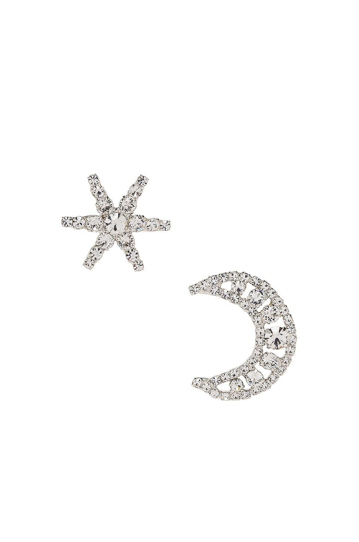 Jennifer Behr Leo Earrings in Crystal