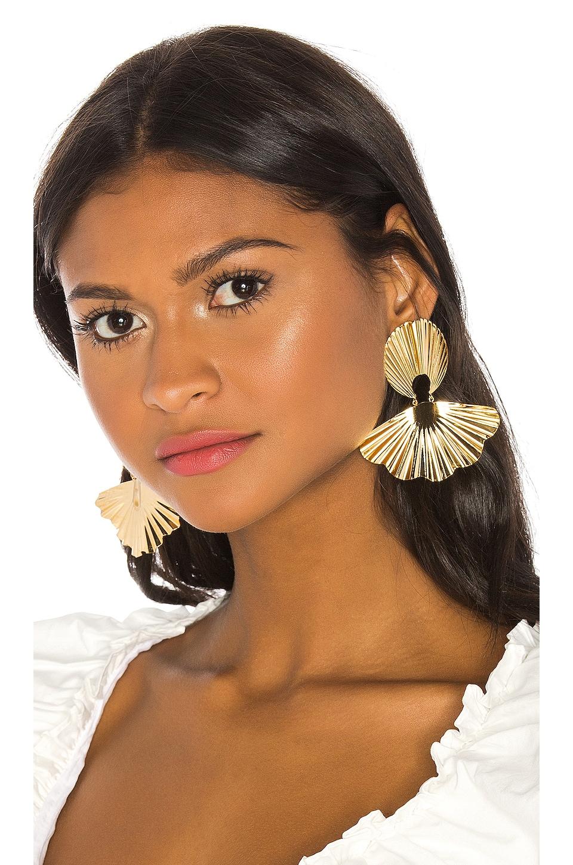 Jennifer Behr Nerissa Earrings in Gold