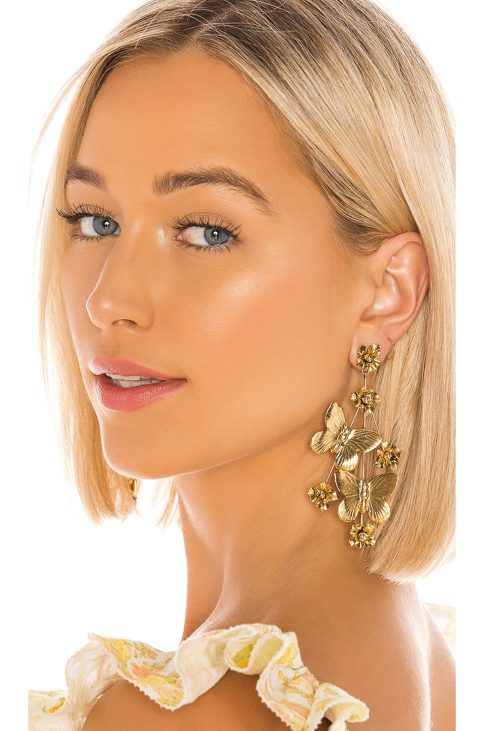 Jennifer Behr Farfalla Earring in gold