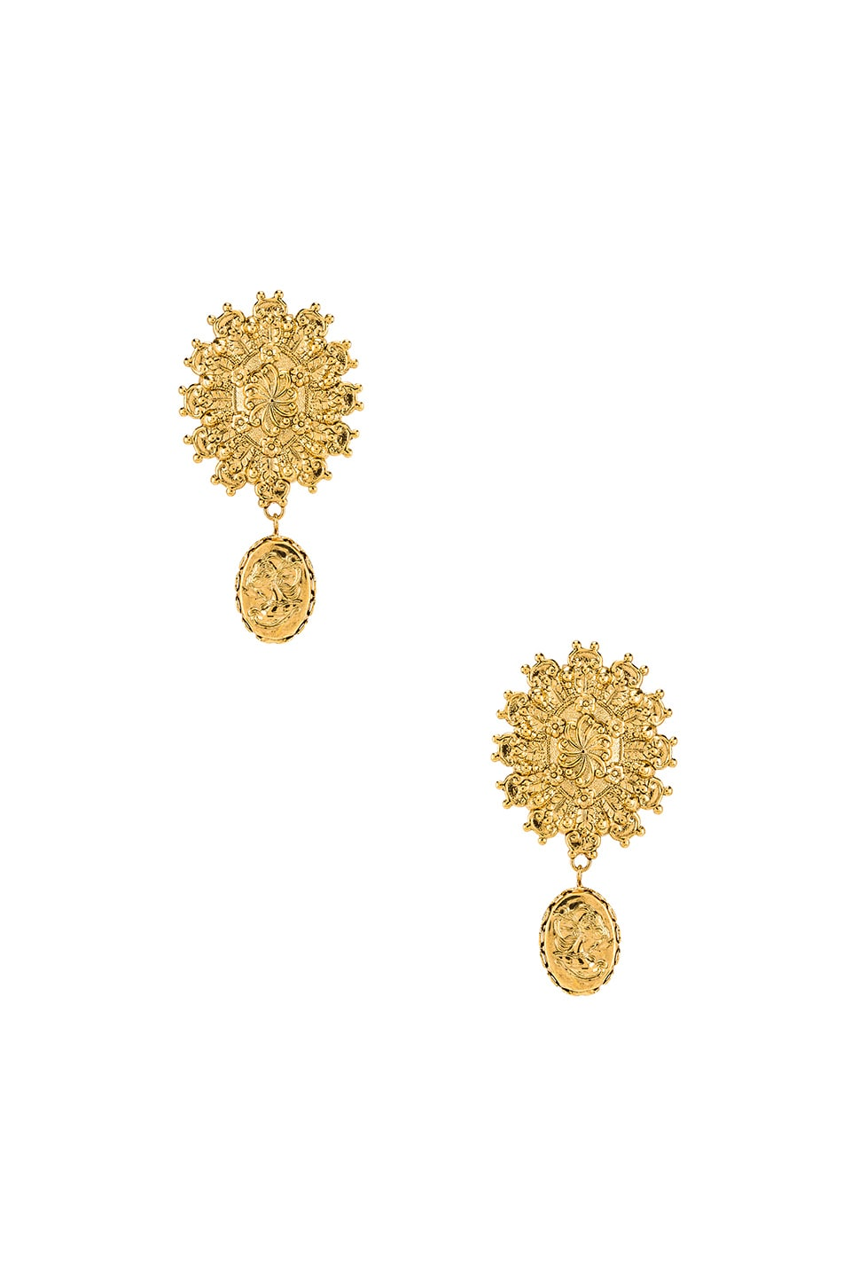 Jennifer Behr Sol Earring in Gold