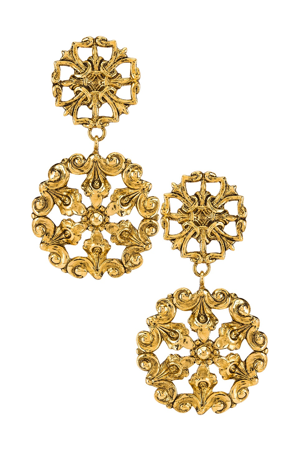 Jennifer Behr Chirine Earring in Gold