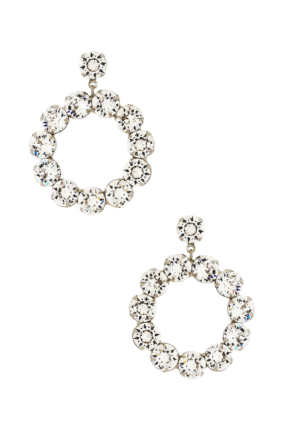 Jennifer Behr Maddox Earring in Crystal