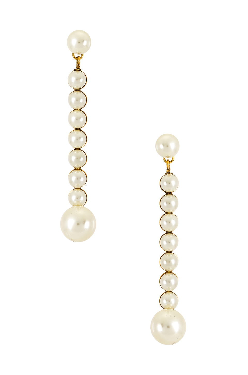 Jennifer Behr Isadore Earring in Gold & Pearl