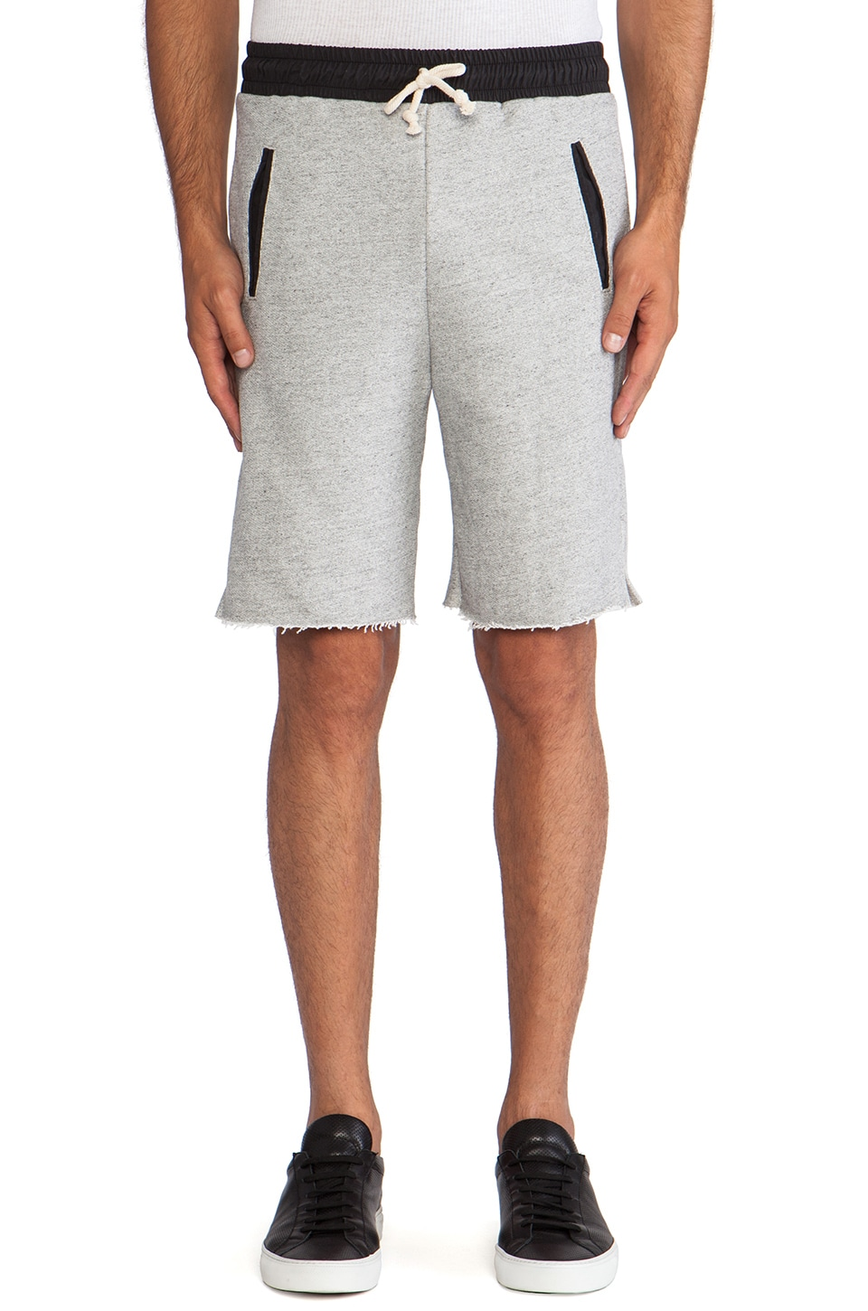 JOHN ELLIOTT Lima Short in Grey Duo 2