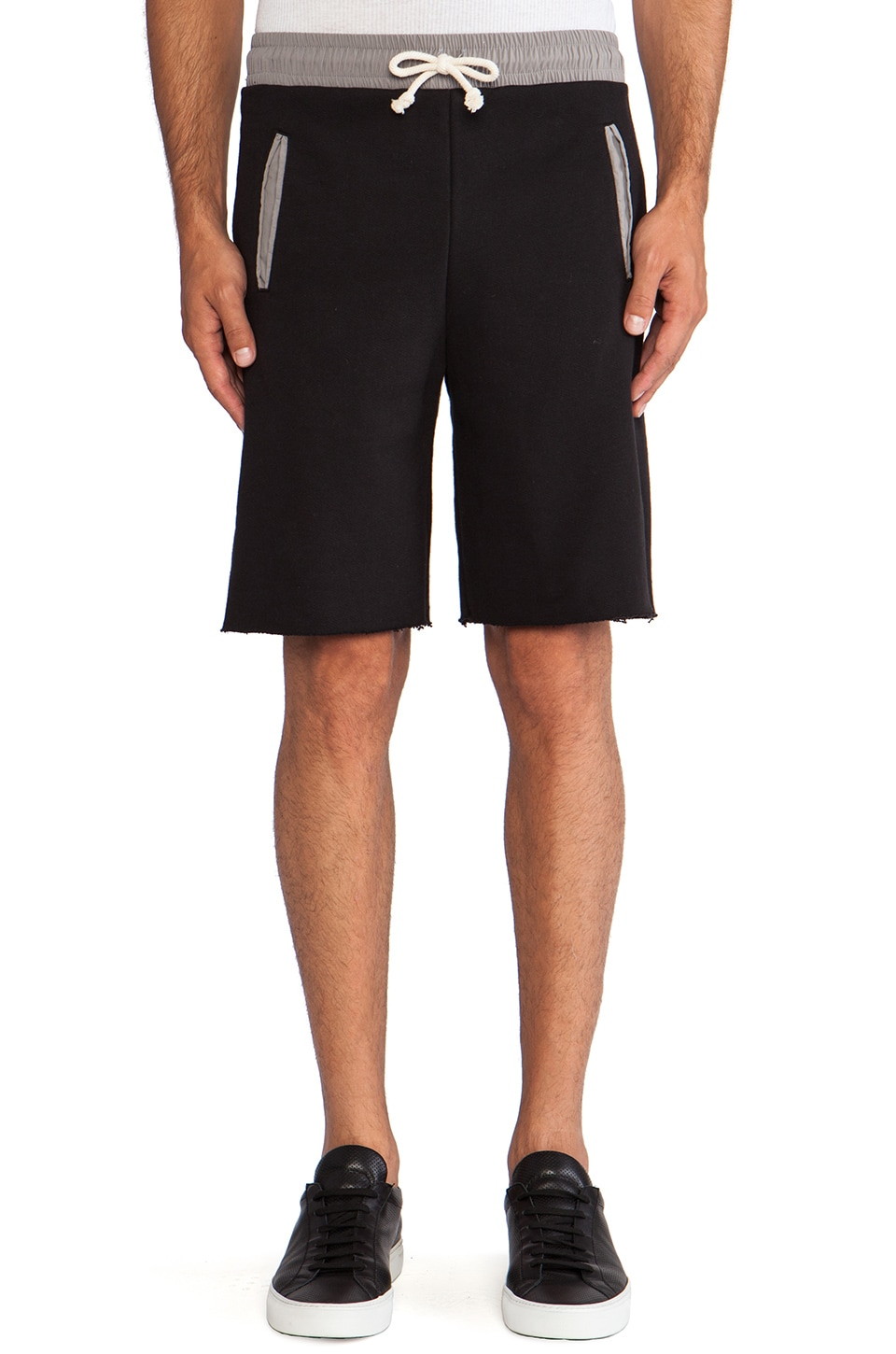 JOHN ELLIOTT Lima Short in Black Duo