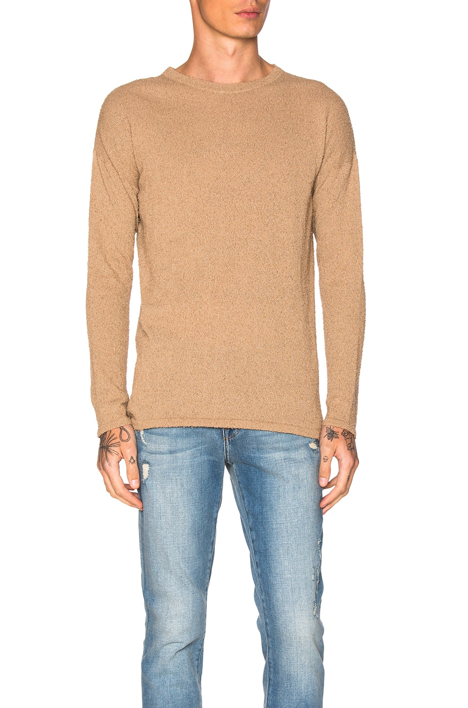 Pigtail Mercer Sweater by JOHN ELLIOTT